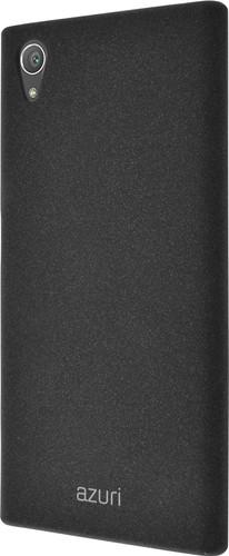 Azuri Flexible Sand Sony Xperia XA1 Plus Back Cover Black Main Image