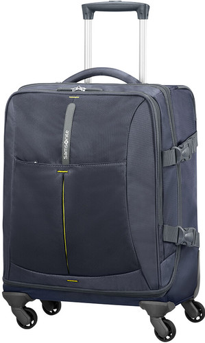 Samsonite 4Mation Spinner Duffle 55cm Midnight Blue / Yellow Main Image