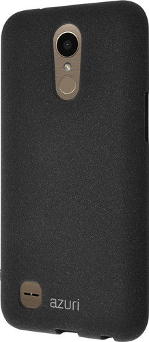 Azuri Flexible Sand LG K10 (2017) Back Cover Black Main Image