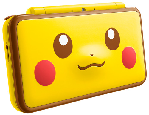 Nintendo 2DS XL Pikachu Edition Main Image