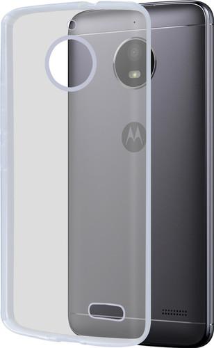 Azuri Glossy TPU Motorola Moto E4 Back Cover Transparent Main Image