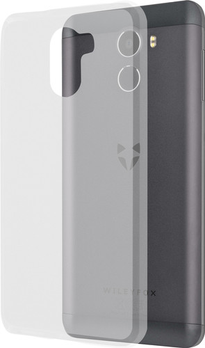 Azuri Glossy TPU Wileyfox Swift 2X Back Cover Transparant Main Image