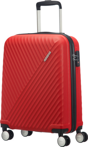 d1a8ae477 American Tourister Visby Spinner 55cm Energetic Red Main Image ...