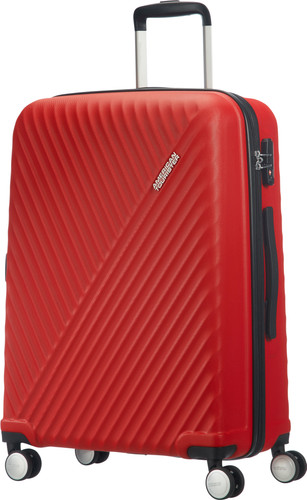 5bb9b7d3d American Tourister Visby Spinner 76cm Energetic Red Main Image ...