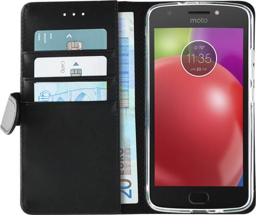 Azuri Wallet Magnetic Motorola Moto E4 Book Case Black Main Image