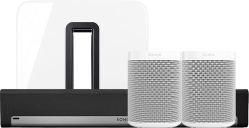 Sonos Playbar 5.1 + One (x2) + Sub White Main Image