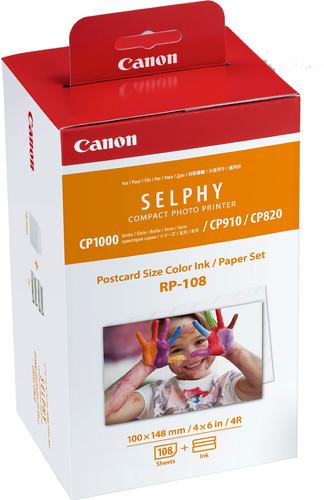 Canon RP-108 Ink Cassette/Paper Set 108 vel Main Image