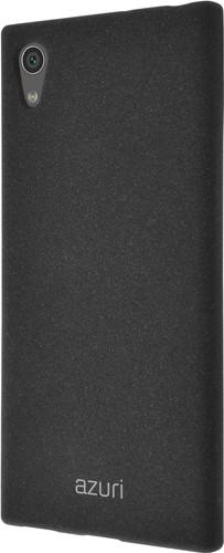 Azuri Flexible Sand Sony Xperia XA1 Back Cover Black Main Image