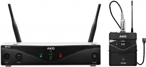 AKG WMS420 Presentation set Band A (530 - 560 MHz) Main Image