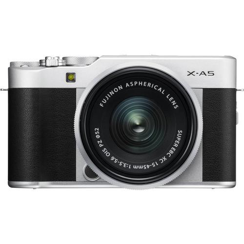 Fujifilm X-A5 Zilver + 15-45mm f/3.5-5.6 OIS PZ Main Image