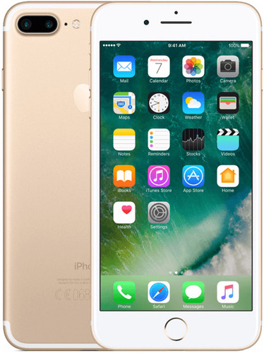 Apple iPhone 7 Plus 32 GB Goud Main Image