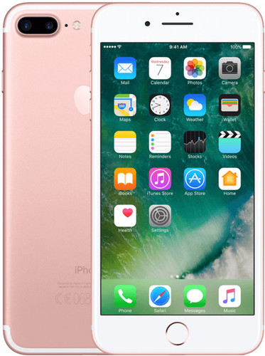 Apple iPhone 7 Plus 128GB Rose Gold Main Image