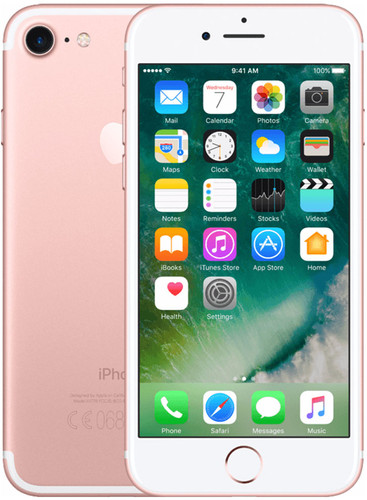 Apple iPhone 7 128GB Rose Gold Main Image