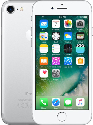 Apple iPhone 7 128GB Zilver Main Image