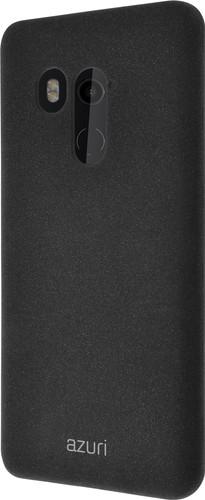 Azuri Flexible Sand HTC U11 Plus Back Cover Black Main Image