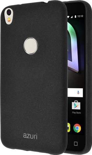 Azuri Flexible Sand Alcatel Shine Lite Back Cover Black Main Image