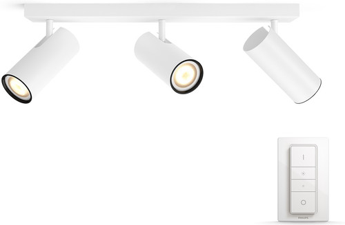 Philips Hue Buratto 3-Spot Wit met Dimmer Main Image