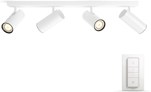 Godt Philips Hue Buratto 4-Spot White with Dimmer - Coolblue - Before LG38