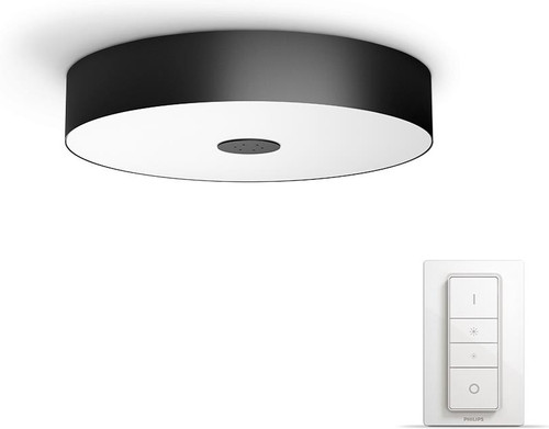 Opdateret Philips Hue Fair Ceiling Lamp Black Starter package - Coolblue JA95