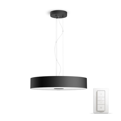 Philips Hue Fair Hanglamp Zwart Main Image
