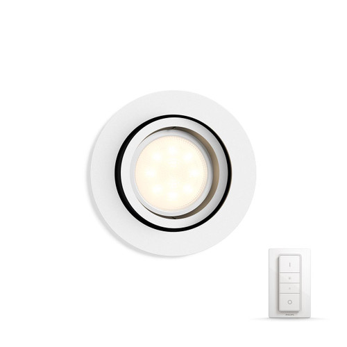 Philips Hue Milliskin Rond Wit Inclusief Dim Switch Main Image