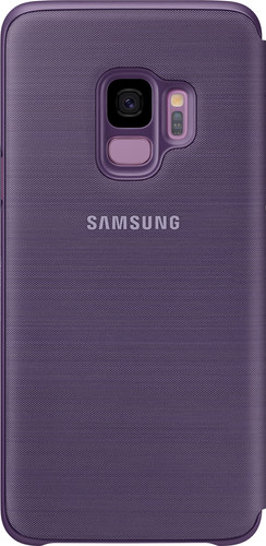 Samsung Galaxy S9 LED View Cover Purple Main Image