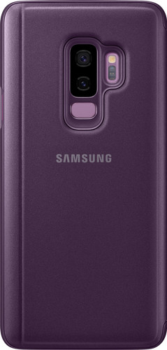 best service c7ef0 9e135 Samsung Galaxy S9 Plus Clear Stand View Cover Purple