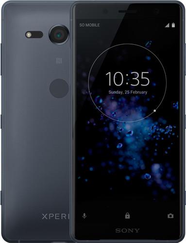 Sony Xperia XZ2 Compact Zwart Main Image