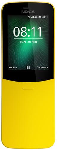 Nokia 8110 4G Geel Main Image