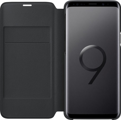 Samsung Galaxy S9 LED View Cover Black Main Image