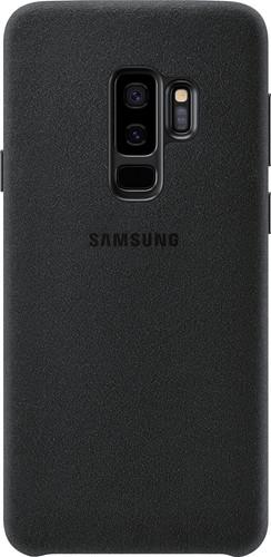 sale retailer 42438 3bb4b Samsung Galaxy S9 Plus Alcantara Back Cover Black