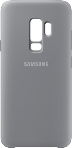 Samsung Galaxy S9 Plus Silicone Back Cover Grijs Main Image