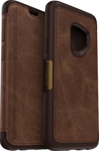 Otterbox Strada Samsung Galaxy S9 Book Case Brown Main Image