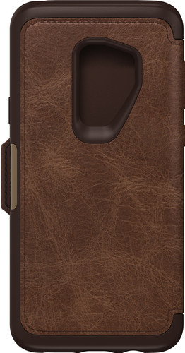 new style 74a54 00774 Otterbox Strada Samsung Galaxy S9 Plus Book Case Brown