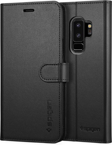 Spigen Wallet S Samsung Galaxy S9 Plus Book Case Zwart Main Image