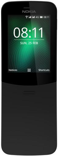 Nokia 8110 4G Zwart Main Image