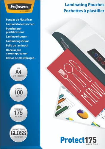 Fellowes Lamineerhoezen Protect 175 mic A4 (100 stuks) Main Image
