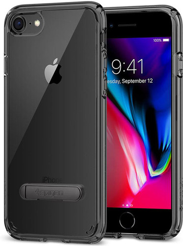 Spigen Ultra Hybrid S Apple iPhone 7/8 Back Cover Zwart Main Image