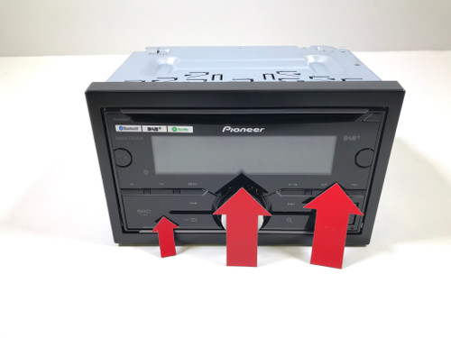 Second Chance Pioneer FH-X840DAB
