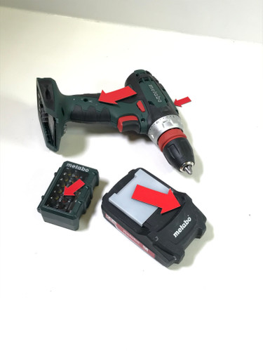 Second Chance Metabo BS 18 Quick Mobile