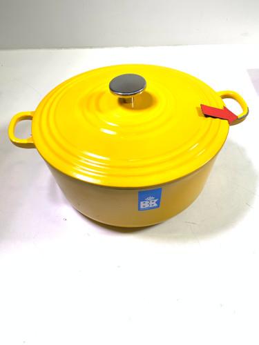Second Chance BK Bourgogne Dutch oven 28cm Sunset Yellow