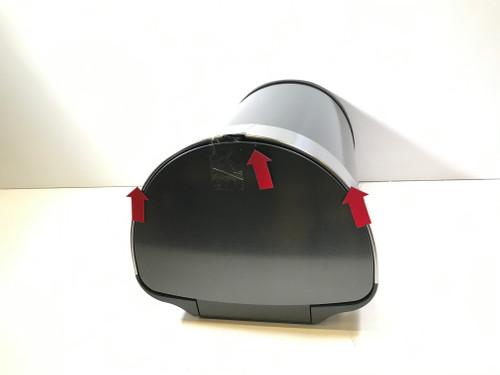 Second Chance Simplehuman Semi-round Sensor LinerPocket 45 Liter Anthracite