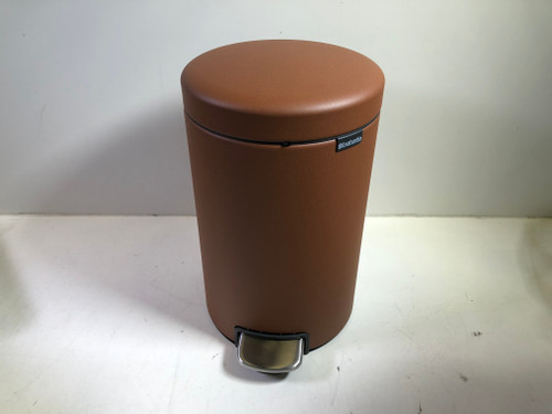 Second Chance Brabantia NewIcon Pedal Trash Can 12L Gold