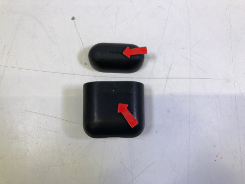 Second Chance Nomad Airpods Case Black