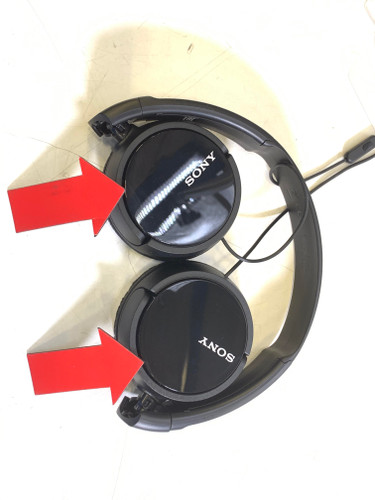 Second Chance Sony MDR-ZX110AP Black