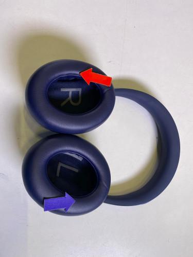 Second Chance Bose Noise-Canceling Headphones 700 Blue