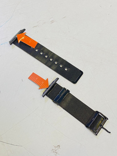 Second Chance Just in Case Apple Watch 38/40mm Milanese Strap Black