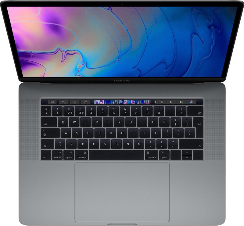 "Apple MacBook Pro 15"" Touch Bar (2019) MV902N/A Space Gray voor fotobewerken"