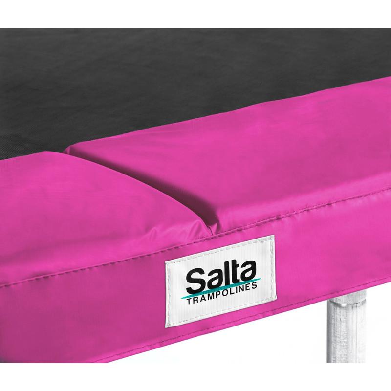 Salta beschermrand voor trampoline rechthoek 153 x 213 cm roze