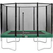 Salta Rechthoekig met Veiligheidsnet 152 x 214 cm Groen